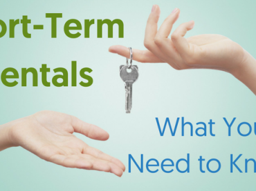 Short Term Rentals – Know the Guidelines